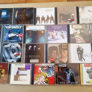 Eagles,Deep purple , Dire Straits and more - 22 cd albums - CD - 1985/2000
