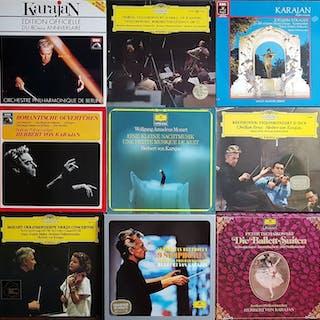 Berliner Philharmoniker & Herbert von Karajan - 17 LPs...