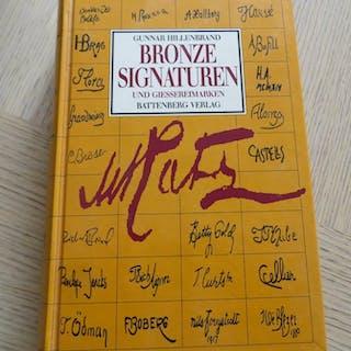 Gunnar Hillenbrand - Bronzesignaturen und Giessereimarken- 1992