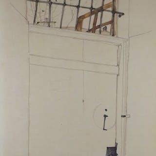 Egon Schiele (1890 - 1918) - Die Tür 1912 - 1960