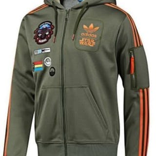 Star Wars - Adidas - Rebel X-Wing Military Han Solo Jacket - Size L