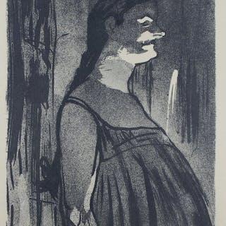 Henri de Toulouse - Lautrec (1864 - 1901) - Madame Abdala 1893