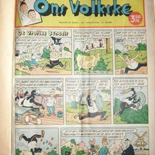 Ons Volkske - Particuliere bundeling - Jaargang 1954...