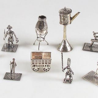 Miniatura de plata (9) - .835 plata - Países Bajos - Segunda mitad del siglo XX