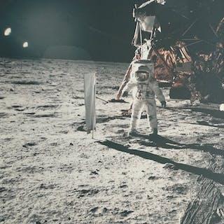 NASA/Neil Armstrong (1930-2012)- (3x) Buzz Aldrin, Apollo 11 and related, 1969