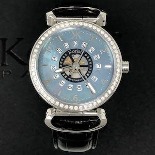 Korloff - Diamonds 1,40 Carats Automatic Blue Mother of...