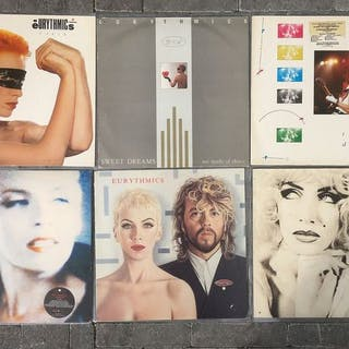 Eurythmics - Diverse Titel - LP's - 1983/1987