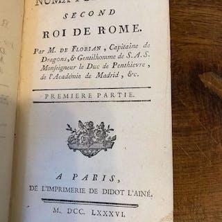 M. de Florian  - Numa Pompilius, Second Roi de Rome - 1786