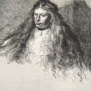 After Rembrandt Harmensz van Rijn (1606-1669) printed by M