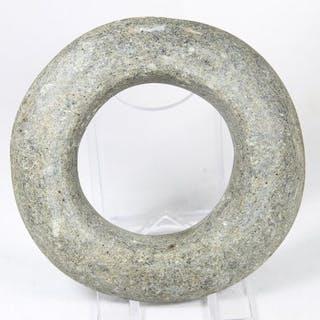 Prähistorisch, neolithischen Stein Ausnahmefund!! einzigartiger Armreif - (1)