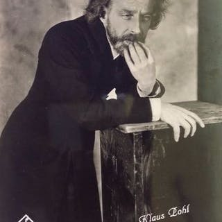 Emil Otto Hoppe (1878-1972) - Still photograph of Klaus Pohl in Fritz Lang film