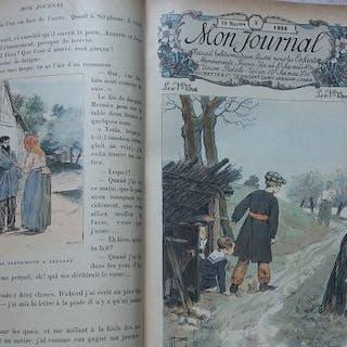 H. Gerbault - Mon journal: Recueil hebdomadaire illustré...