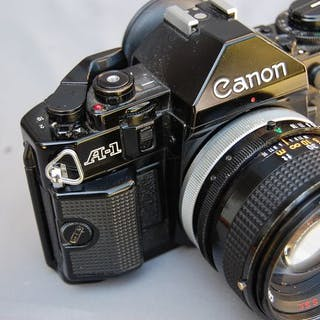 Canon A 1 +50mm F1:1.4 SSC