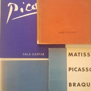 Picasso - Lot with 4 books - 1938/1968