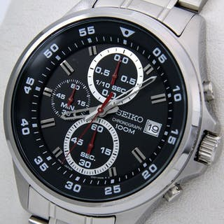"Seiko - Chronograph ""Sport Dial"" 100M - - ""NO RESERVE PRICE"" - - Men - 2018"
