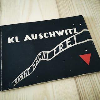 Diverse auteurs - Kl Auschwitz, Arbeit macht Frei [Holocaust photobook] - 1960