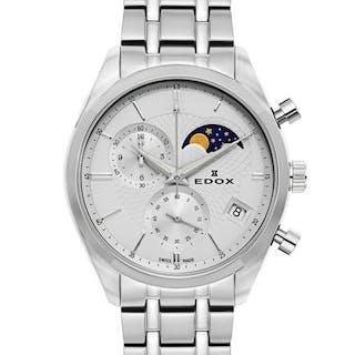 Edox - Les Vauberts Chronograph Mondphase Datum - 01655...