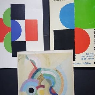 Sonia Delaunay - Lot with 3 catalogues - 1967/1985