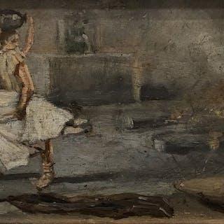 Simonetti Alfonso (1840 - 1892) - Bozzetto per scena storica