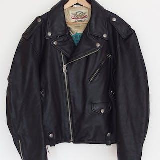 Leder Motorradjacke - Größe XXL - Avirex - 1995-1990