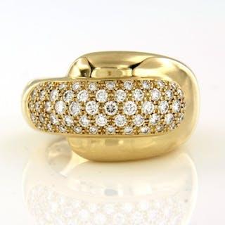 Chaumet - 18 kt. Yellow gold - Ring - 1.70 ct Diamond