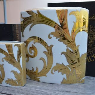 Versace - Rosenthal - Vase (2) - Porzellan