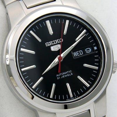 "Seiko - Unisex Automatic 21 jewels ""Black Dial"" - ""NO..."
