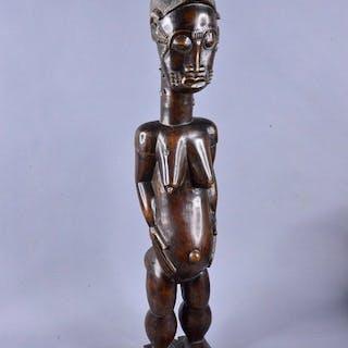 Carving - Wood - maternité - Baoulé - Ivory Coast