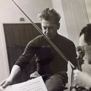 Max Jacoby (1919-2009) - Two studies of conductor Herbert...