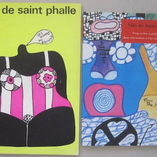 Niki de Saint Phalle - Lot with 2 books - 1967/2005