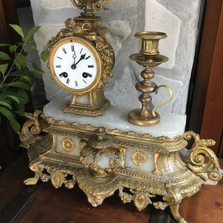 Orologio da tavolo - Bronzo - Seconda metà del 19° secolo