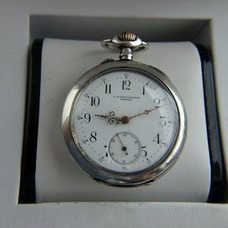 Chopard - L.U.C Medal Silver pocket watch NO RESERVE...