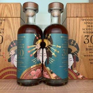 Burnside 30 years oldGeisha Whisky Batch 1- 700ml - 2 bottles