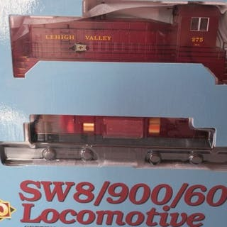 Brawa H0 - 30091 - Diesellokomotive - SW 8/900/600 Lok 275 - Lehigh Valley