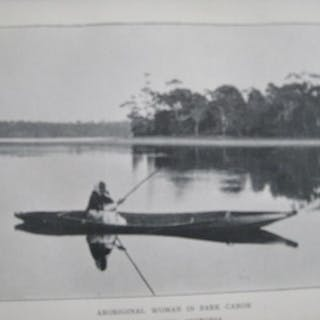 """A.G. Plate - The ' Lloyd """" Guide to Australasia. - 1906"""