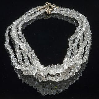 Quartz Necklace - 1×2×50 cm - 64 g - (5)