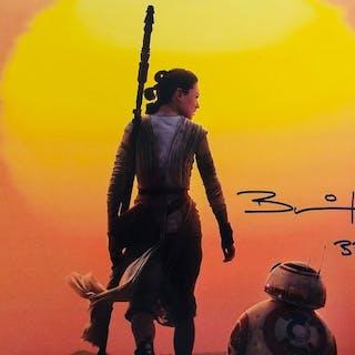 Star Wars - Brian Herring BB8 - Signed Photo ( 28 x 35 cm...