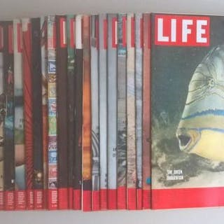 LIFE - International Edition  - 1954