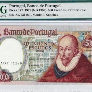 Portugal - 500 Escudos Ouro - Banco de Portugal - 1979...