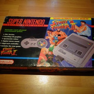 "Nintendo Snes - ""Street Fighter II Edition""- In original box"