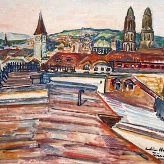 Julius Hüther (1881-1954) - Vista urbana