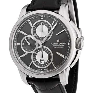 Maurice Lacroix - Pontos Chronograph - PT6188-SS001-830 - Men - 2011-present
