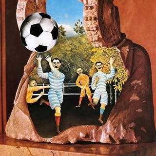 Jiri Kolar - Advertising poster for the 1982 Football World Cup- 1982