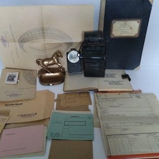 Germany - I WK - German Reich Railway - Document