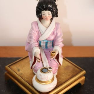 Personnage (1) - Céramique, Porcelaine