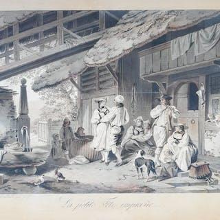 Sigmund Freudenberger (1745 – 1801) - La petite Fête imprevûe