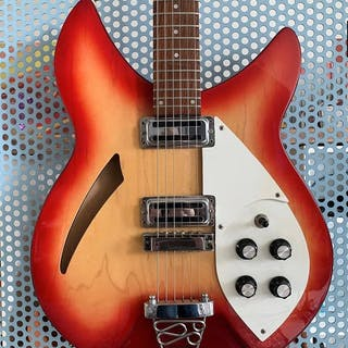 Legend by Aria - Vintage Guitar 60s Replic - Semi-hollow...