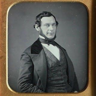 Unknown (19th century)- Daguerreotype of a victorian gentleman