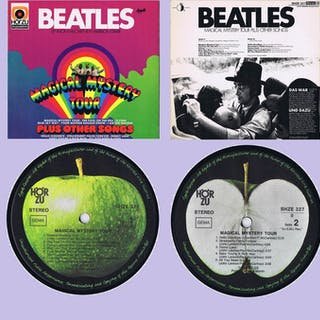 THE BEATLES - Magical Mystery Tour Plus Other Songs - LP Album - 1967/1967