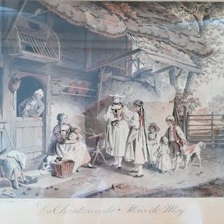 Sigmund Freudenberger (1745 – 1801) - Les Chanteuses du Mois de May
